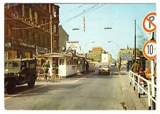 AK, Berlin Kreuzberg, Ausländergrenzübergang Checkpoint Charly, um 1970