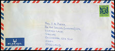 Hong Kong 1987 Commercial Air Mail Cover To England #C30327