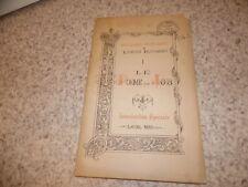 1892.Livres poétiques de l'ancien testament.Poème de Job.Anonyme