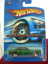 Hot Wheels 1968 Mercury Cougar #182 Green