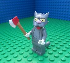 Lego 71005 The Simpsons Scratchy Axe Cat Minifig Minifigure