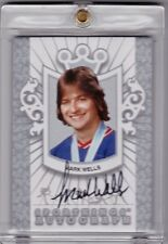 """MIRACLE ON ICE"" TEAM USA 2011 SPORTKINGS MARK WELLS SERIES E AUTO HOCKEY SILVER"