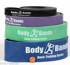 """Pull Up Band Assist Set 41"""" Loop Cross Fit Resistance Bands Extra Durable"""