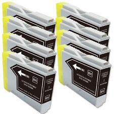 8 BLACK Ink Cartridge fits Brother LC51BK MFC 230C 240C 3360C 440CN 465CN 5460CN