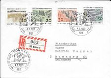 CLB223) Nice W. Germany 1969 Cover Protect The Nature