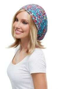 Softie Boho Beanie 100% Bamboo Viscose Chemo Stretchable Hat Cap Jon Renau