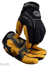 Caiman®  2916 XL Yellow Pig Grain Leather Insulated HEATRAC® III Work Gloves