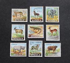 ANGOLA - 1953 SCARCE ANIMALS SET TO 3ags MNH LOT RR