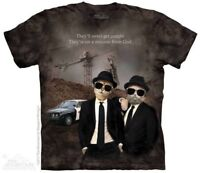 Cat Brothers T-Shirt by The Mountain. Blues Brothers Tee Sizes S-5XL NEW