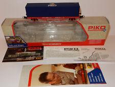 PIKO HOBBY HO 1/87 WAGON + CONTAINER CONTAINERTRAGWAGEN CARGO FLAT REF 57706 BOX
