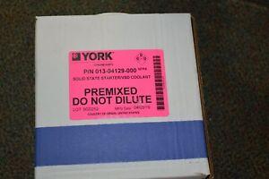 NEW York VSD Solid State Starter Coolant BLUE GREEN 013-04129-000 Gallon