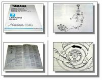 Yamaha Malta 3A Außenbordmotor Werkstatthandbuch Service Manual