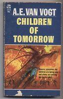 A. E. Van Vogt Children Of Tomorrow 1970 Vintage Paperback Science Fiction