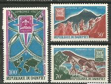 Dahomey Scott#239-241 C59 MNH Jamboree Scouts 1967
