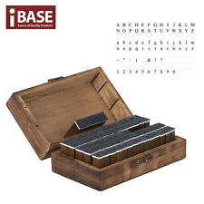 70 pcs/set Rubber Stamp Letter Number Alphabet Wooden Box Case Multipurpose Wood