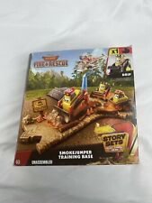 Disney Planes Fire and Rescue Toy Play Set Smokejumper Training Base Story NEW