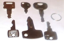 6 Keys Plant Set Piece Tractor Case Jcb Cat Case Jcb Cat Hitachi Takeuchi & More