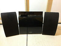 Sony Micro Hi-FI Component System CMT-CX5BiP - DAB Dock CD iPOD iPhone - (4,4s)