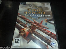 Wings of Honour Battles of Red Baron   pc game