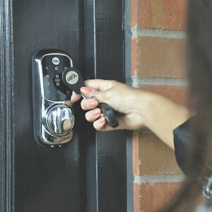 Yale Keyless Connected Smart Door Lock Polished In Chrome - Touchscreen Backlit