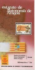 España Estatuto de Autonomía de Aragón año 1984 (DS-620)