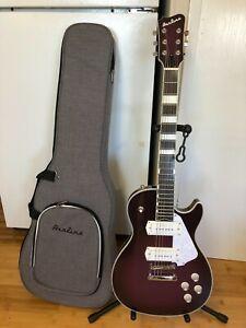 Eastwood Airline Mercury Guitar - Limited Edition Purple Burst w/Soft Case