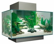Fluval Edge Aquarium Fish Tank (black) 23l