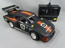 Yonezawa Porsche 935 K3 Vintage Radio control Car 1/13 boxed 1982 + Transmitter