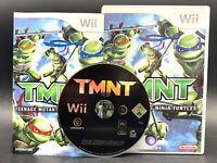"""NINTENDO WII SPIEL"""" TMNT - TEENAGE MUTANT NINJA TURTLES """" KOMPLETT"""