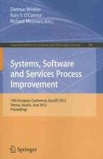 SYSTEMS, SOFTWARE AND SERVICES PROCESS IMPROVEMENT - WINKLER, DIETMAR (EDT)/ O'C