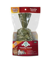 OXBOW ANIMAL HEALTH GRASSY GRASS WOVEN TIMOTHY HAY CARROT FREE SHIP IN THE USA