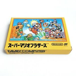 SUPER MARIO BROS. - Empty box replacement spare case for Famicom game