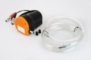 Bomba extractora aceite 12 v aspiracion extraccion gasoil cambio aceite trasvase