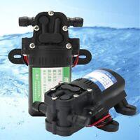 12V 3.5L/min RV Boat Diaphragm Water Pump Self-Priming Caravan High Pressure