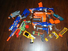 Nerf N-Strike Gun and Accessory Lot