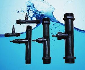 PVDF Special Ozone-Water Mixer! Venturi Tube! Injector! No-Return Check Valve!