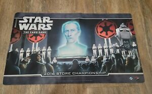 2016 Store Championship Mat Bag Star Wars Trading Card Games Custom Playmat TCG