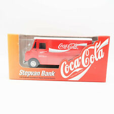 1996 Ertl Grumann Stepvan Coca Cola 1:43 scale coin bank Red Deliver Truck New