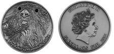 Rare Fiji 2012 Large antiqued Silver  $10-Predators-Lutra(Nutria),mintage 999