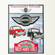 MINI COOPER LOGO CAR PATCHES Iron-On Patch Super Set #111 - FREE POSTAGE!