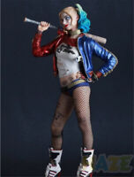 Crazy Toys DC Suicide Squad Harley Quinn 1/6 Scale Statue Figure Model Toys 12''