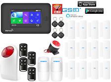 A61 APP IP WiFi+GSM+RFID Wireless Smart Home Security Alarm System+Amazon Alexa