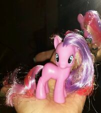 My Little Pony Error Cupcake Prototype Mistake Rare G4 FIM Tinsel Hair NO Symbol