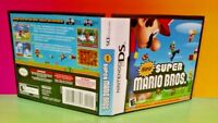 New Super Mario Bros. - Nintendo DS Case, Cover Art, ONLY *NO GAME*