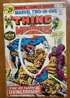 Marvel Two-In-One #15 (Marvel, 05/76) Morbius Cover/App.