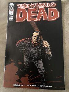 THE WALKING DEAD #100 2nd Print  1ST NEGAN & Lucille, Death of Glenn comic book