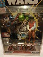 Star Wars Comic Packs Darth Vader & Rebel Officer Figures Hasbro 2006 Aus Seller