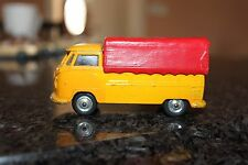CORGI  VW  Single Cab made in England  Pick up & Cargo cover hard to find 1960's