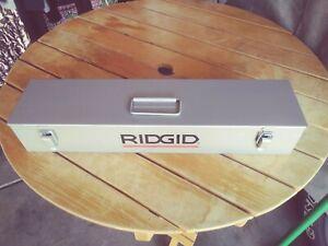 ridgid pipe threader set