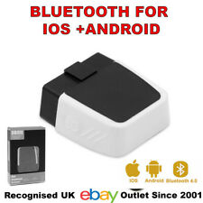 Mini OBD2 Scanner ELM327 Bluetooth 4.0 16-Pin w/ LED Android iOS Windows pan UK